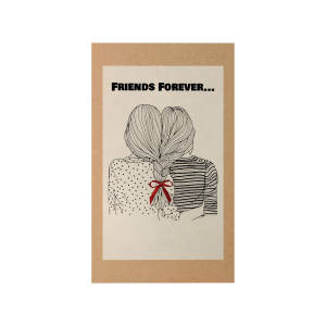 کارت پستال مدل Friends کد A114