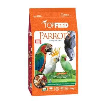 غذای خشک طوطی سانان تاپ فید مدل Parrot Complete Feed وزن 750 گرم