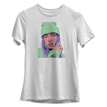 تی شرت زنانه طرح بیلی ایلیش کد S003