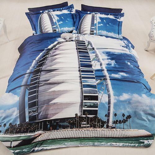 سرویس ملحفه ای فرست چویس مدل Dubai دو نفره 6 تکه