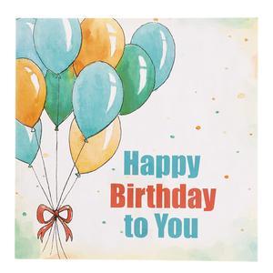 کارت پستال چاپ آقا طرح تولدت مبارک مدل 10