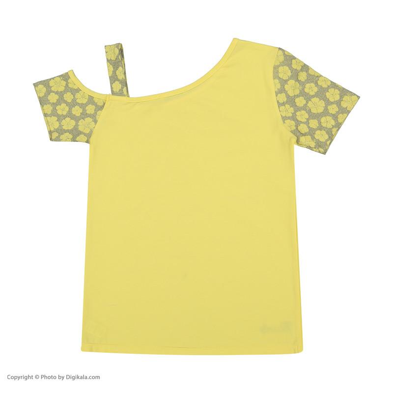 تی شرت دخترانه پیانو مدل 1424-16