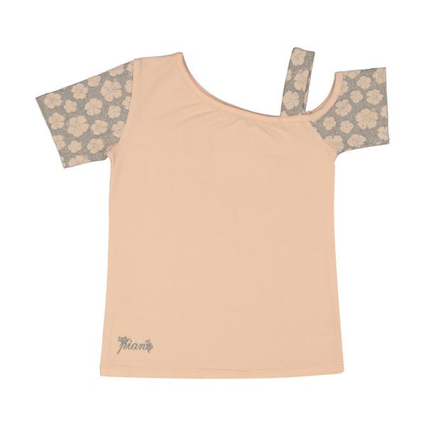 تی شرت دخترانه پیانو مدل 1423-20