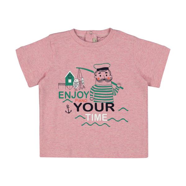تی شرت نوزادی پسرانه پیانو مدل 5532-84