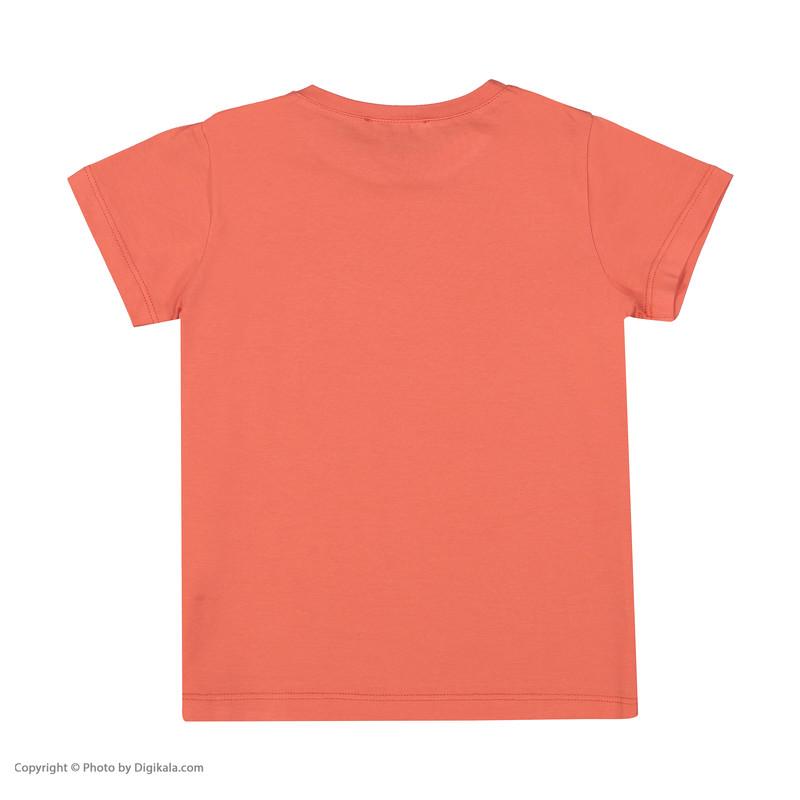تی شرت دخترانه پیانو مدل 1441-23
