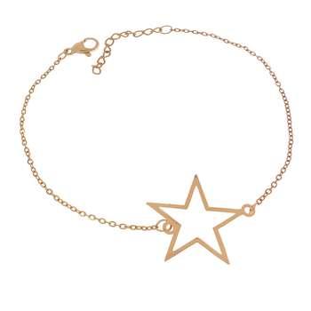 دستبند زنانه طرح ستاره کد DA1061