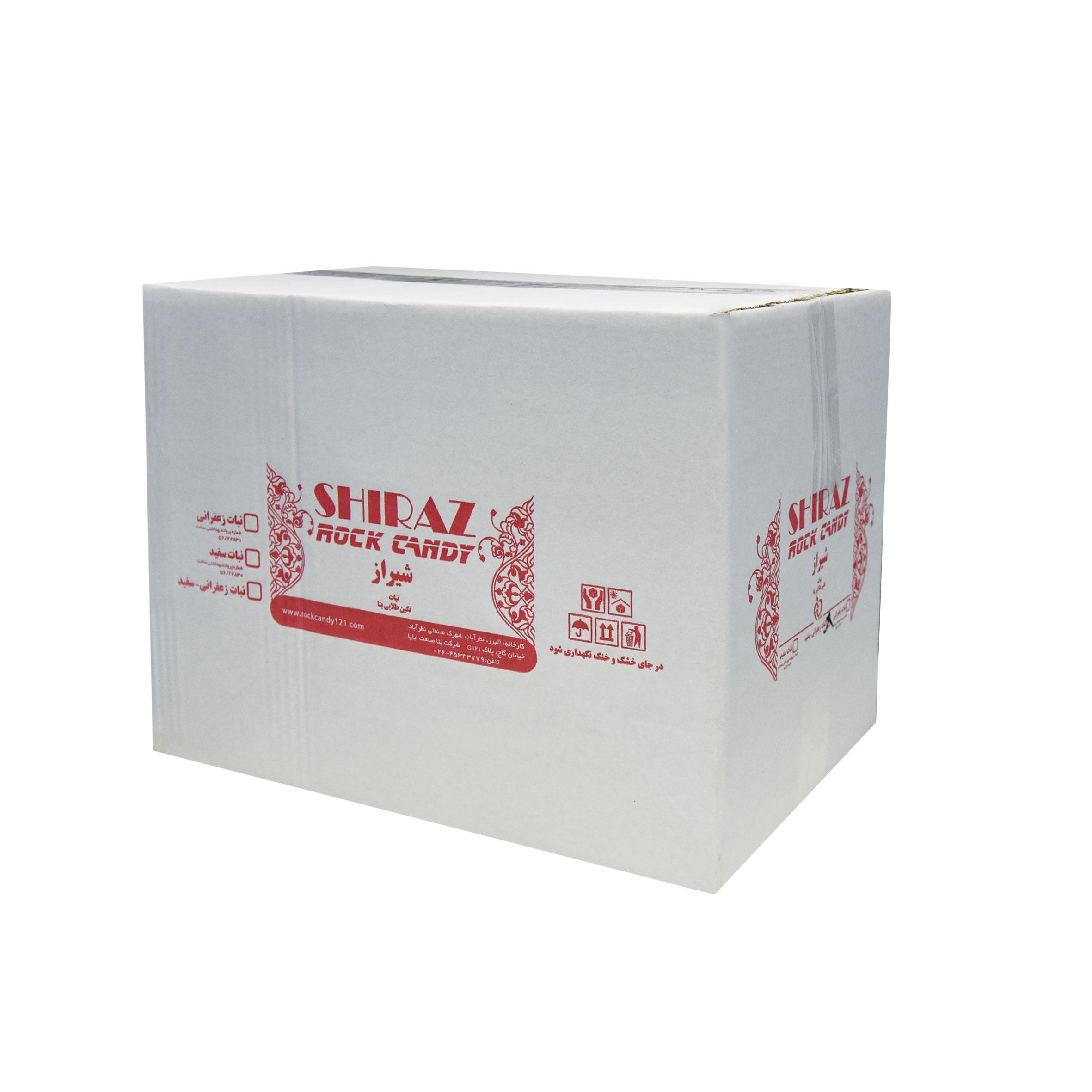 خرید                      نبات چوبی سفید شیراز راک کندی بسته 400 عددی