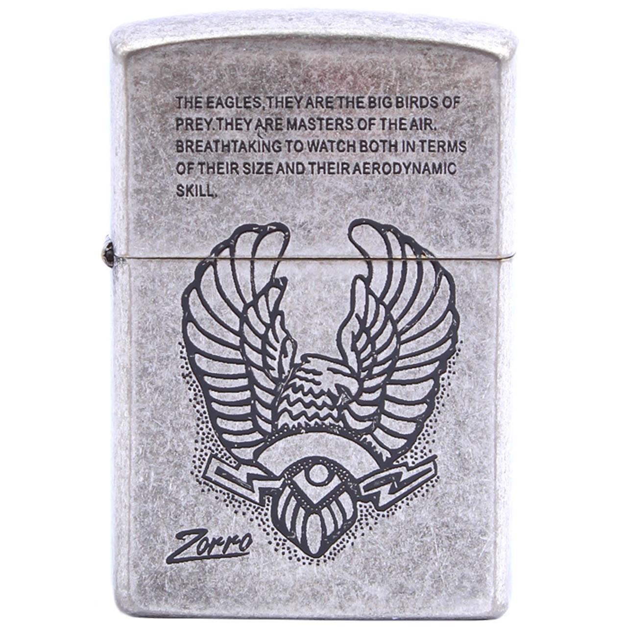 فندک زورو التیمیت جاستیک مدل Eagle 902