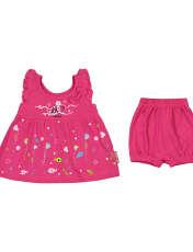 ست پیراهن و شورت نوزادی دخترانه مدل 2171111-88 -  - 1