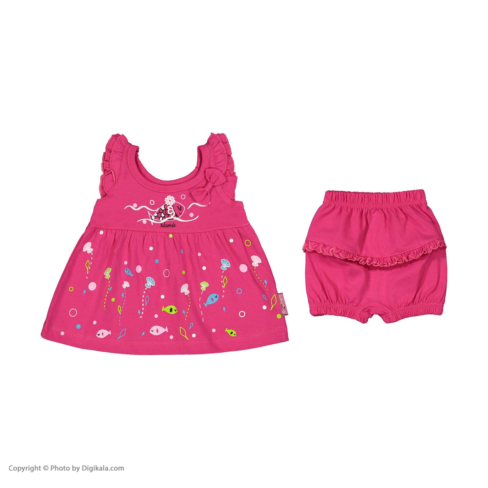 ست پیراهن و شورت نوزادی دخترانه مدل 2171111-88 -  - 4