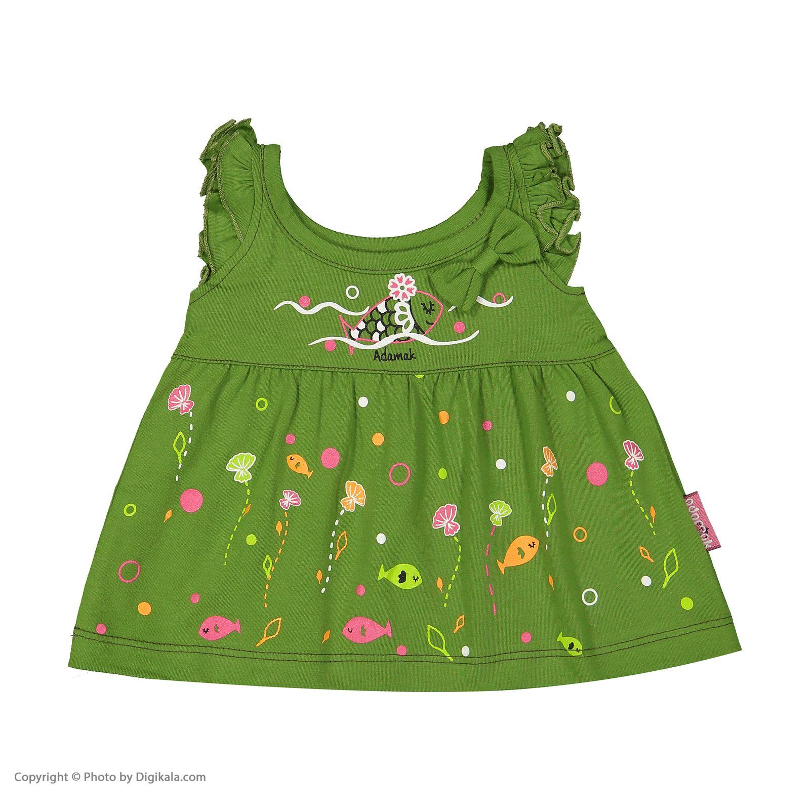 ست پیراهن و شورت نوزادی دخترانه مدل 2171111-42 -  - 5
