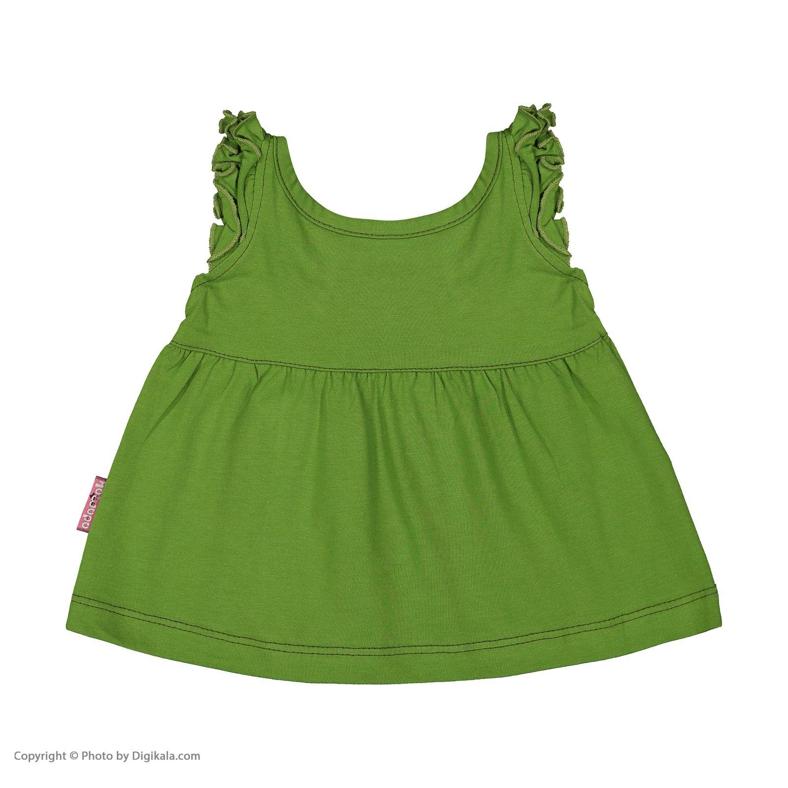 ست پیراهن و شورت نوزادی دخترانه مدل 2171111-42 -  - 6
