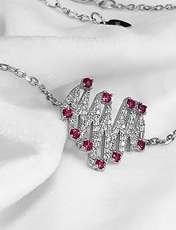 دستبند نقره زنانه اقلیمه کد DN429 -  - 7