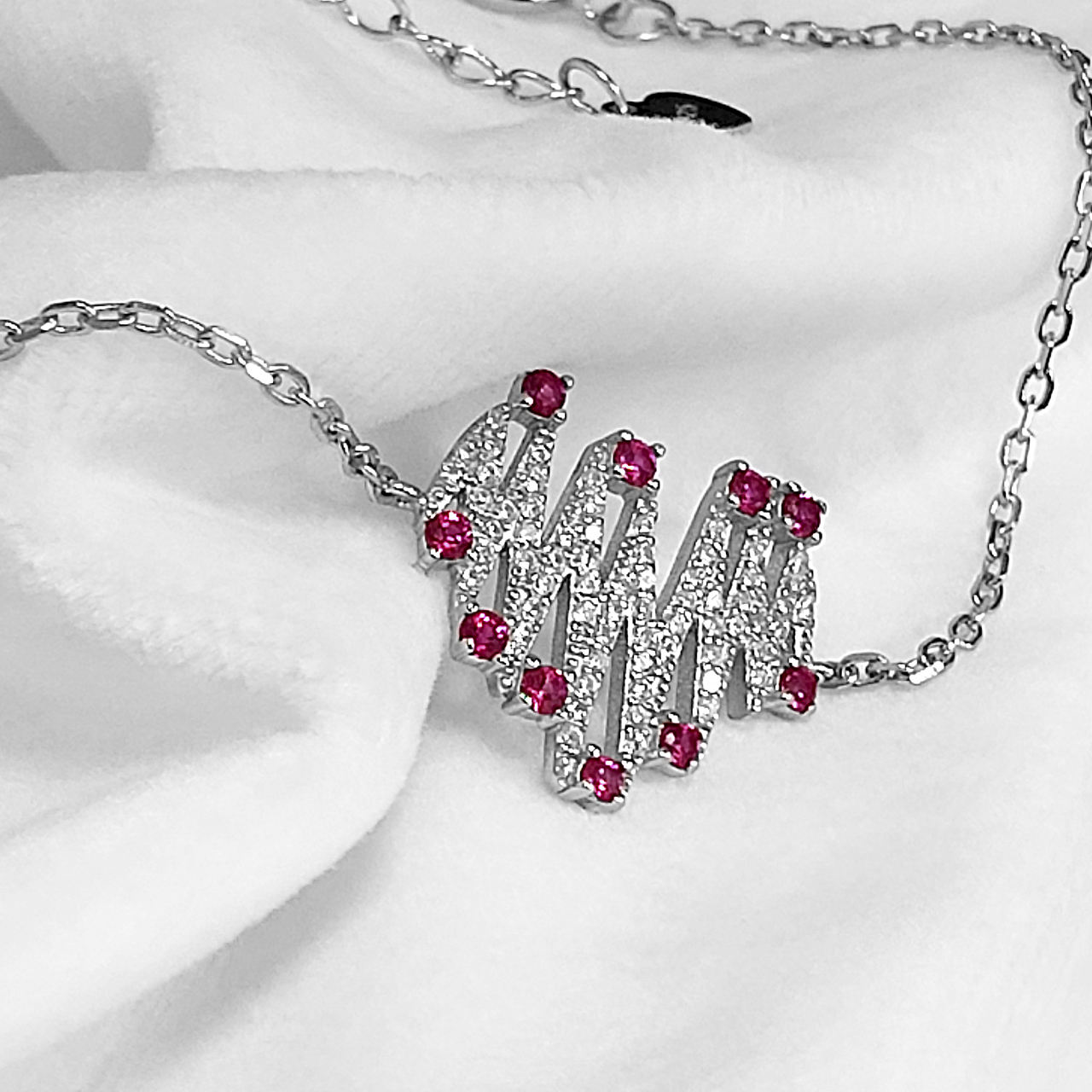 دستبند نقره زنانه اقلیمه کد DN429 -  - 8