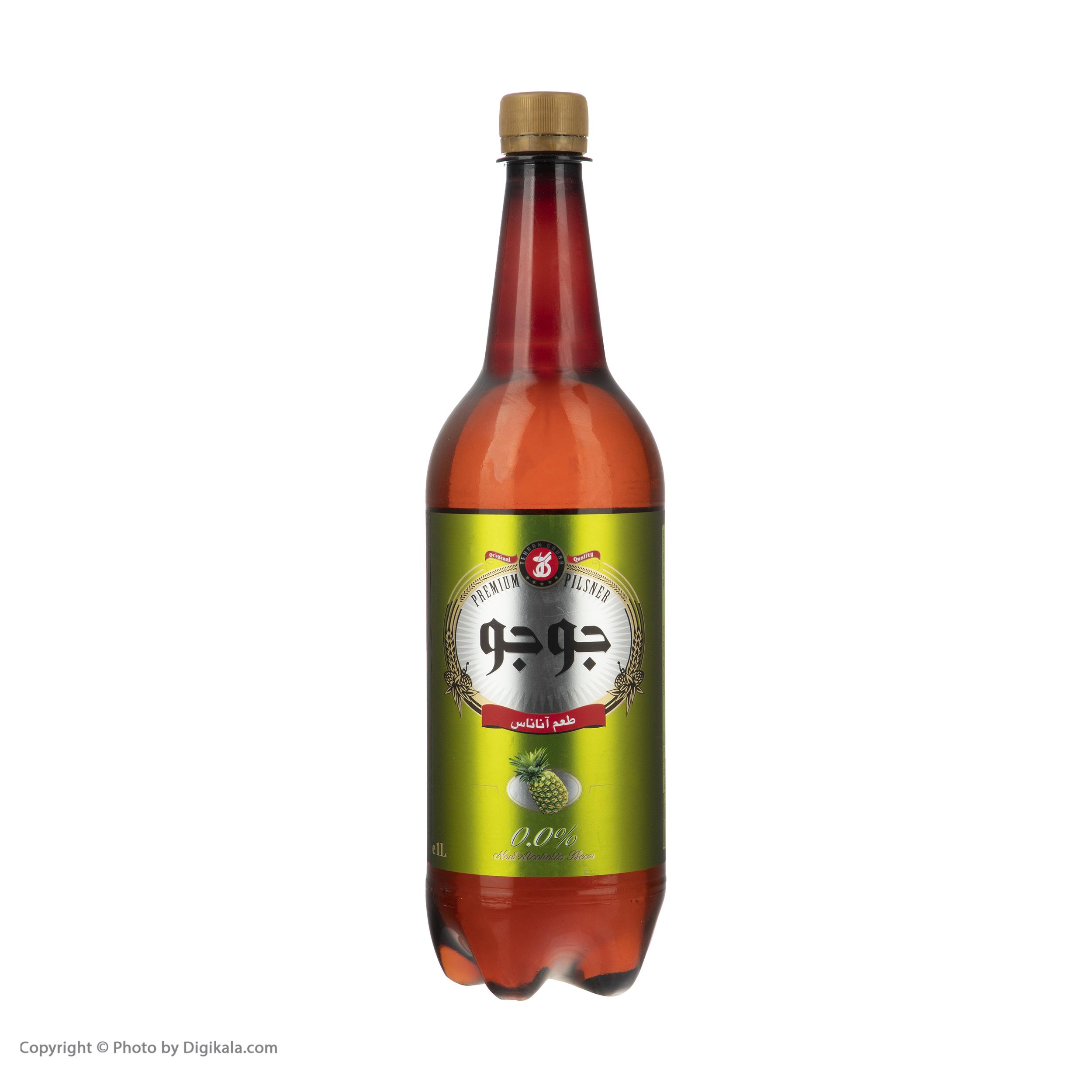 ماءالشعیر جوجو طعم آناناس - 1 لیتر