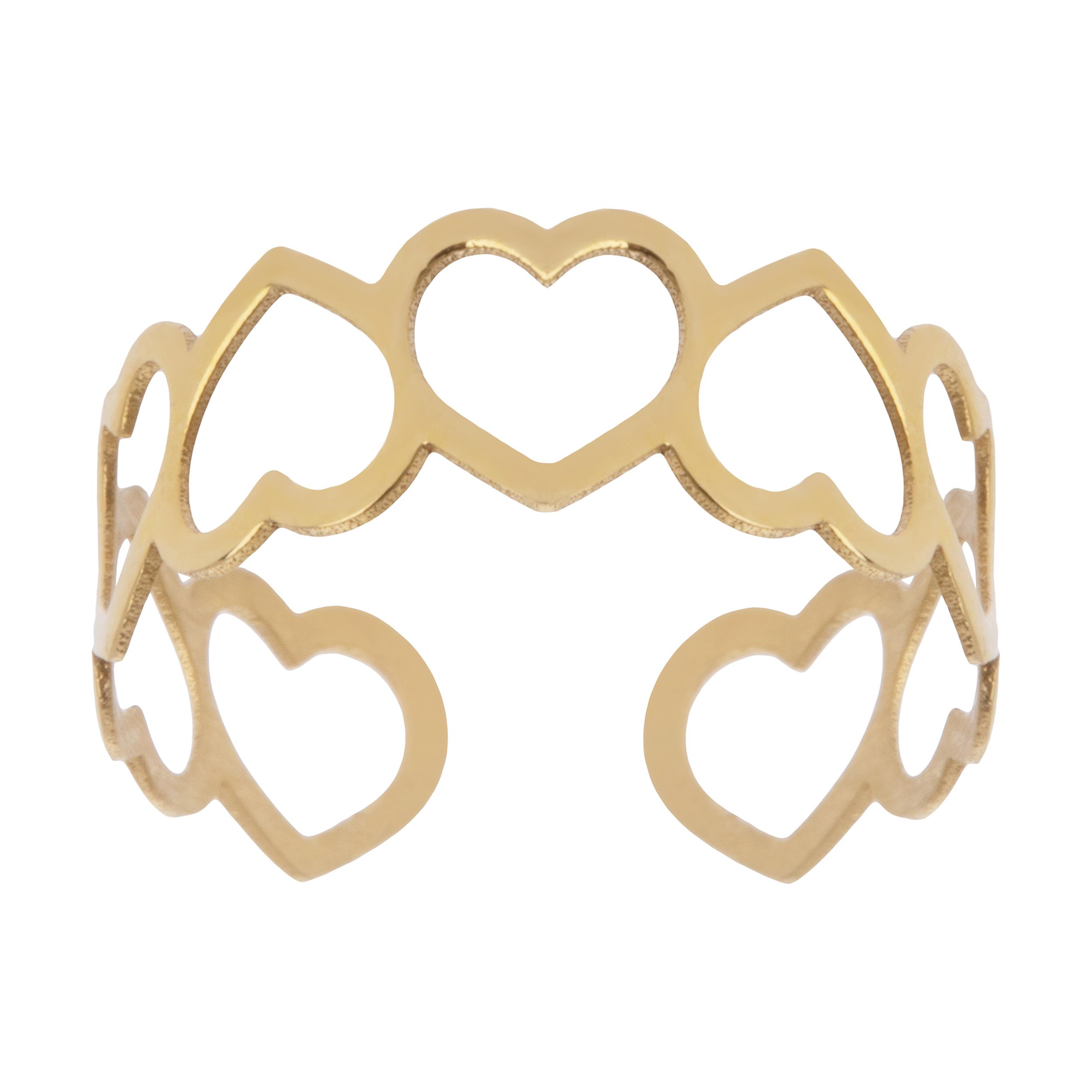 انگشتر طلا 18 عیار زنانه نیوانی مدل NR016