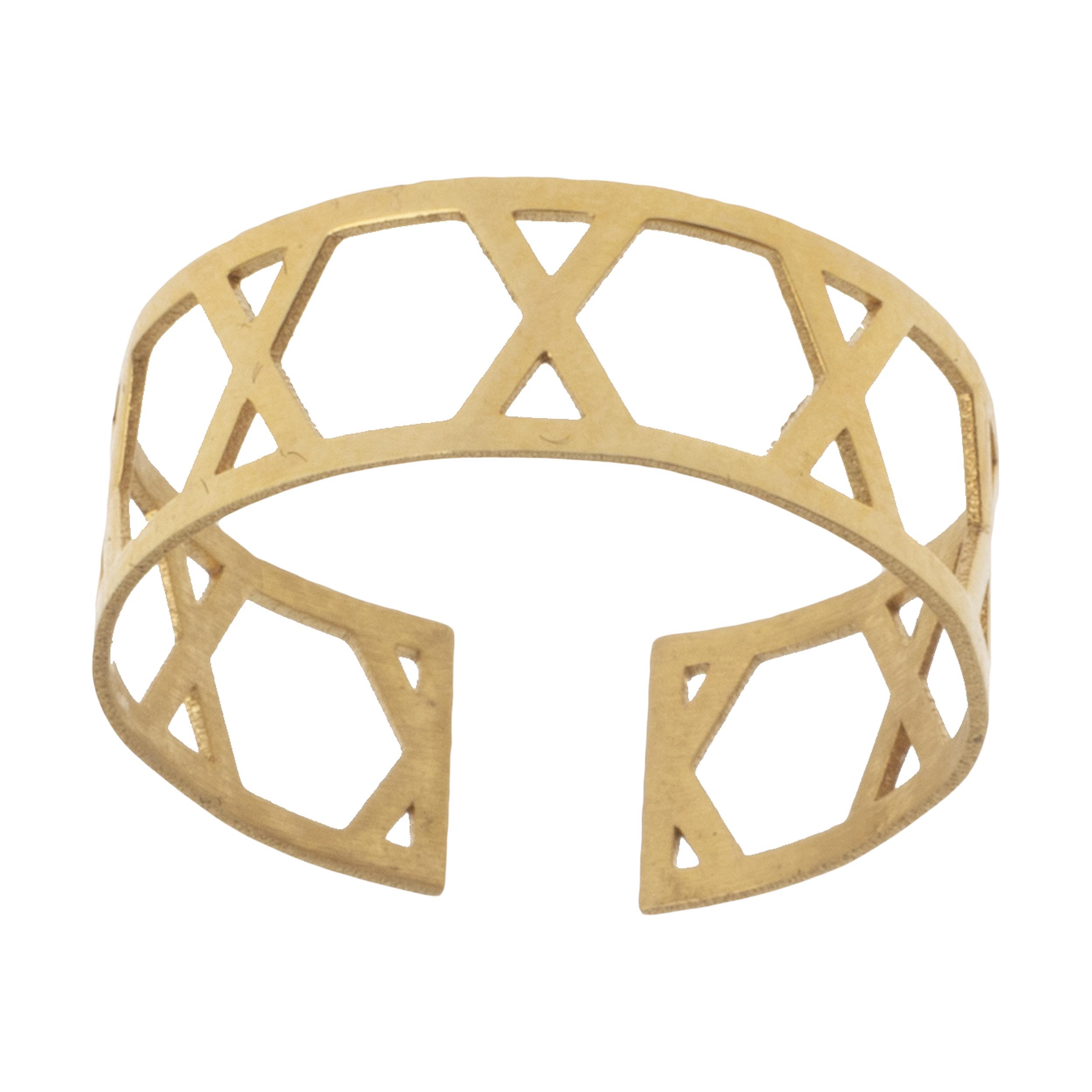 انگشتر طلا 18 عیار زنانه نیوانی مدل NR018