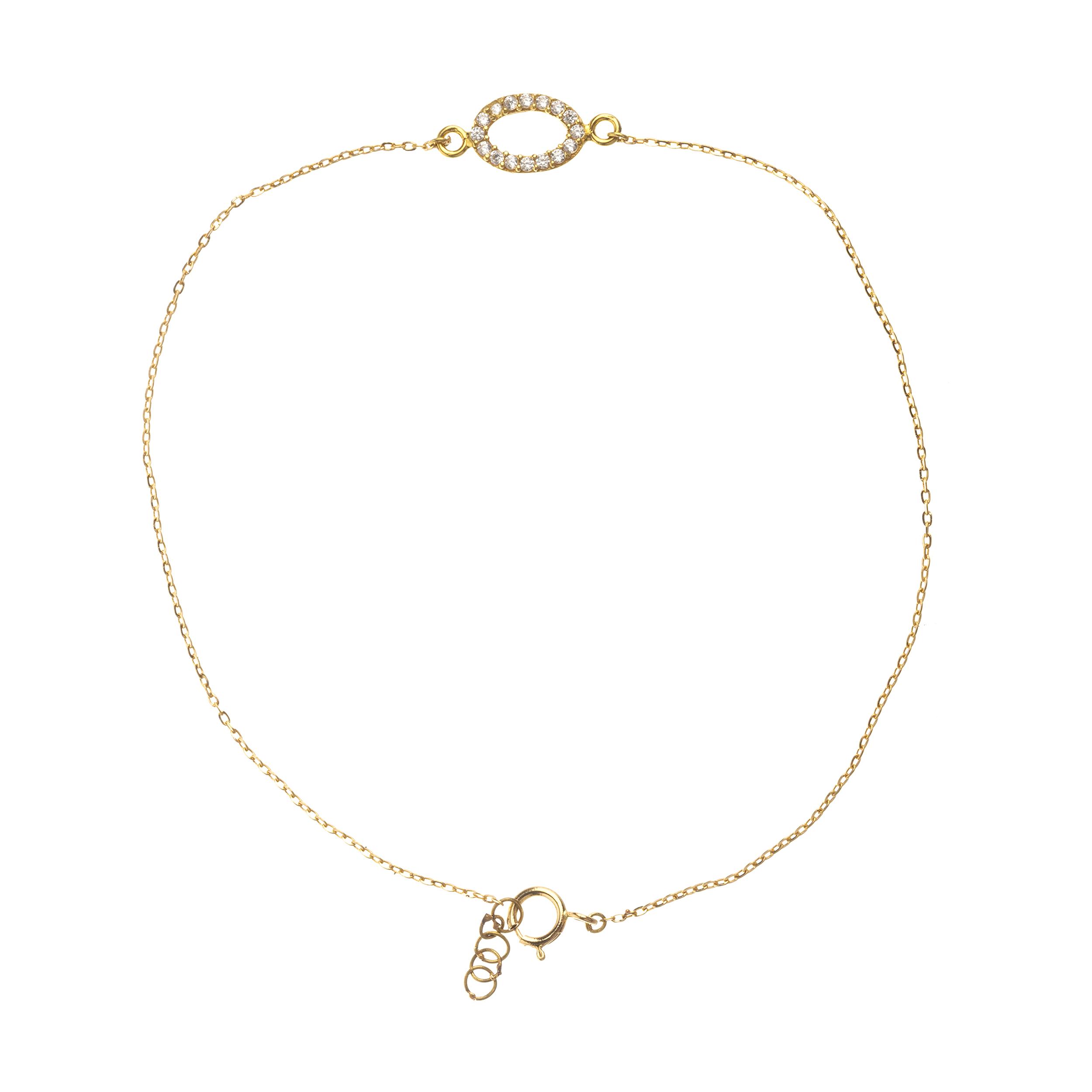 پابند طلا 18 عیار زنانه نیوانی مدل PA010
