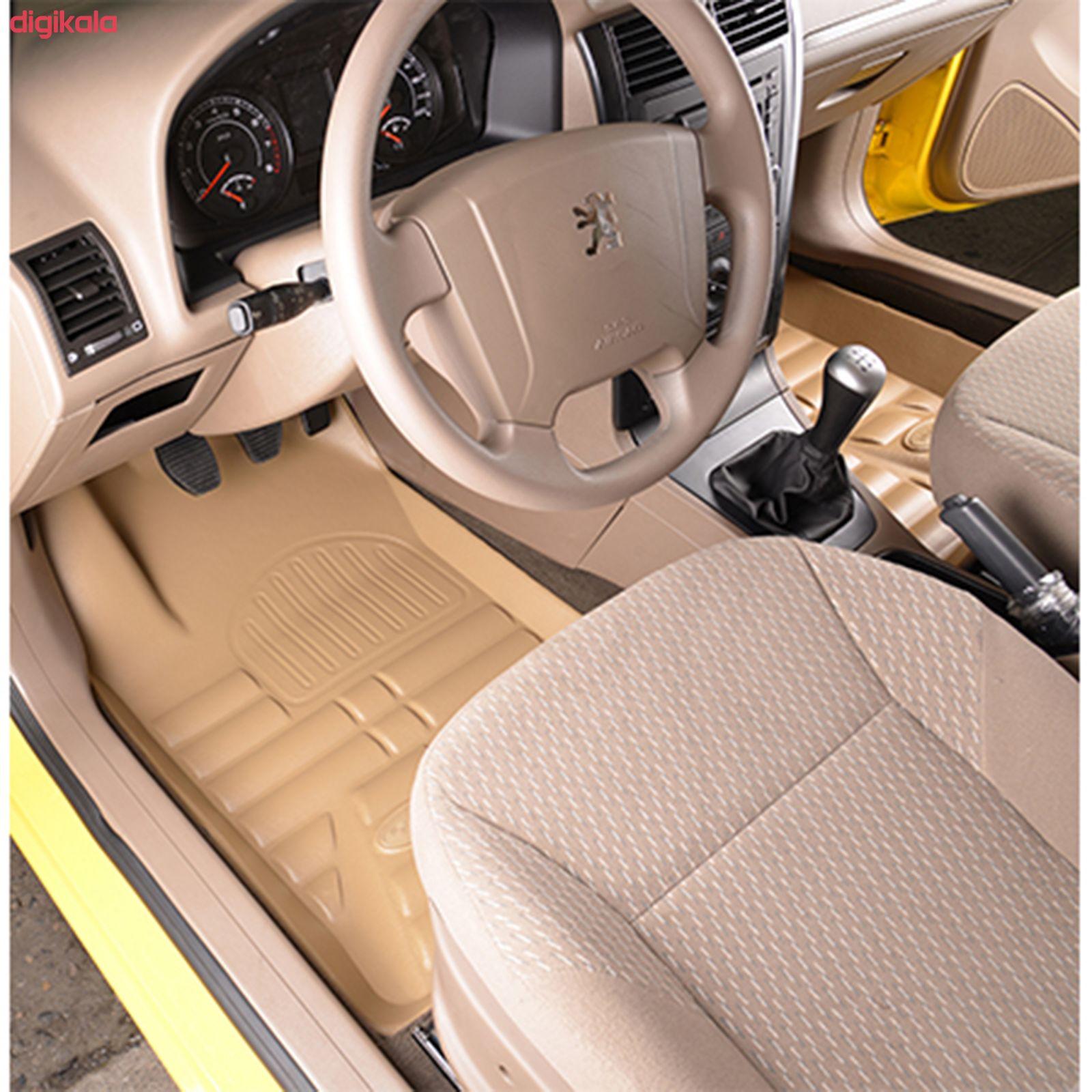 کفپوش سه بعدی خودرو بابل کارپت مدل ch12145 مناسب برای پژو پارس main 1 1