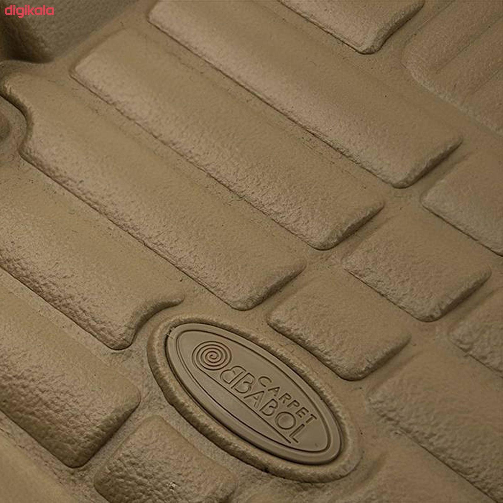 کفپوش سه بعدی خودرو بابل کارپت مدل ch12145 مناسب برای پژو پارس main 1 2