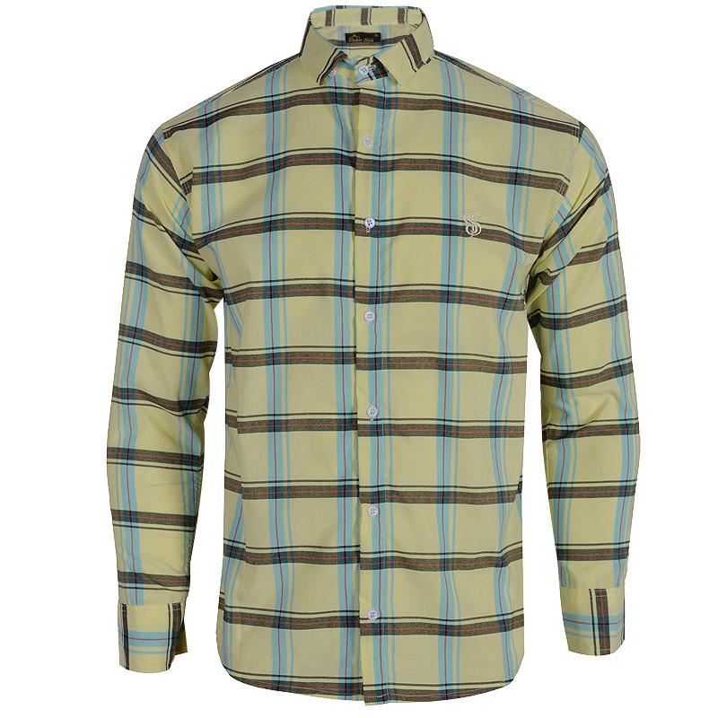 پیراهن آستین بلند مردانه کد 344000929