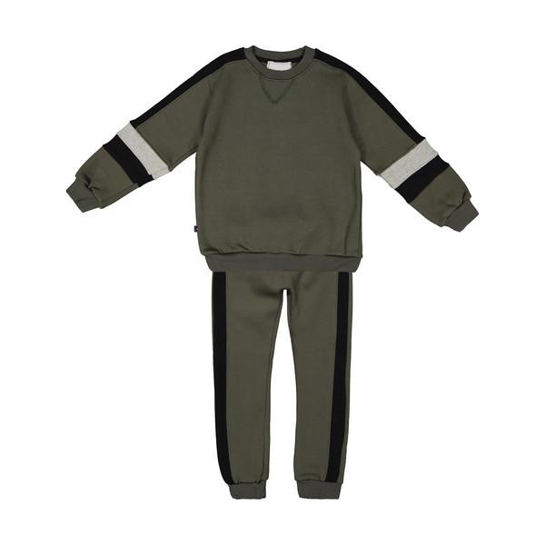 ست تی شرت و شلوار پسرانه نامدارز مدل 2021106-49