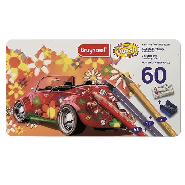 مداد رنگی 60 رنگ برونزیل مدل Dutch کد 90431