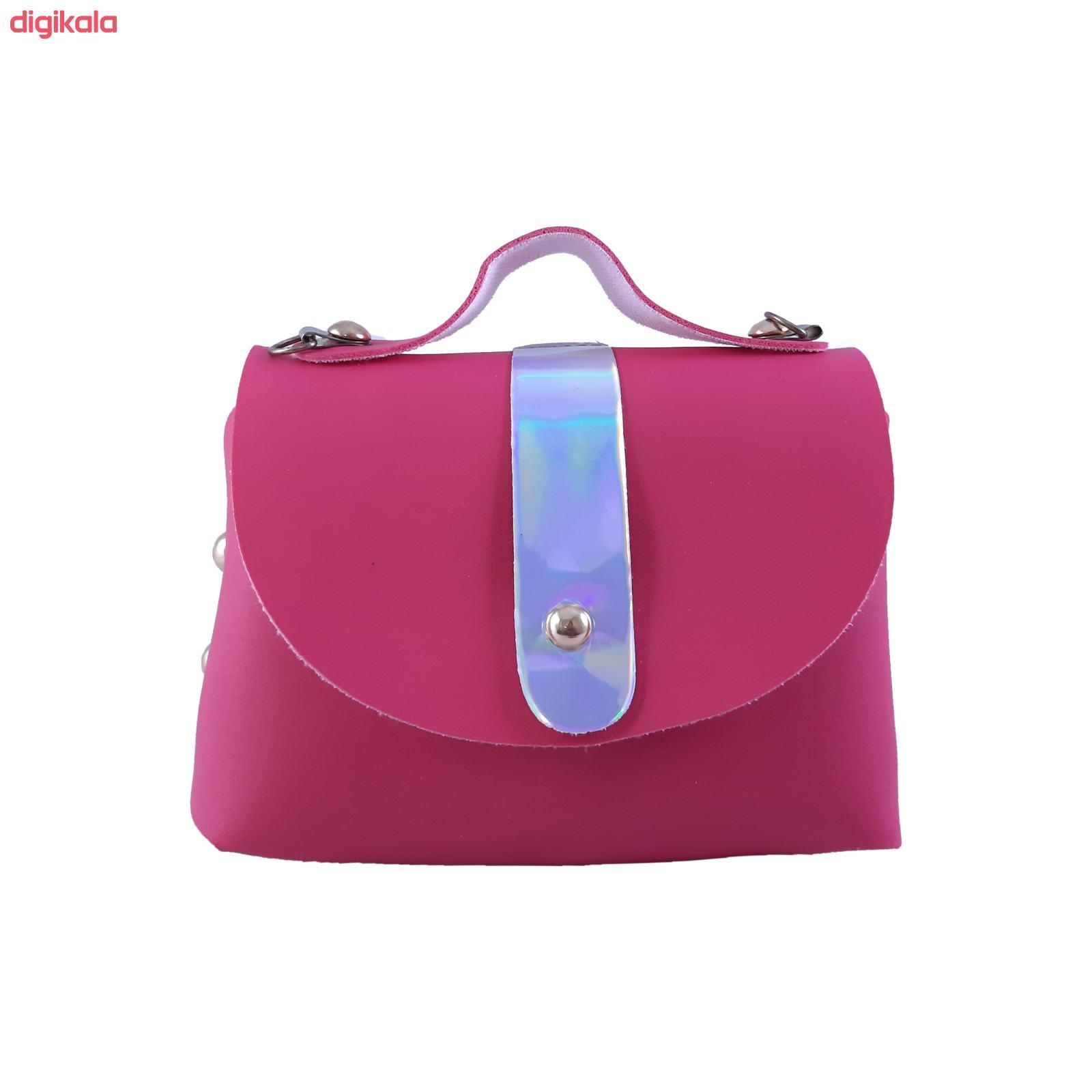 کیف دوشی دخترانه مدل n090 main 1 2
