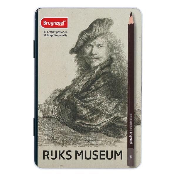 مداد طراحی برونزیل مدل RUKS کد 100553 مجموعه 12 عددی