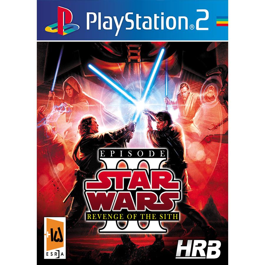 بازی Star Wars: Revenge of the Sith III مخصوص PS2