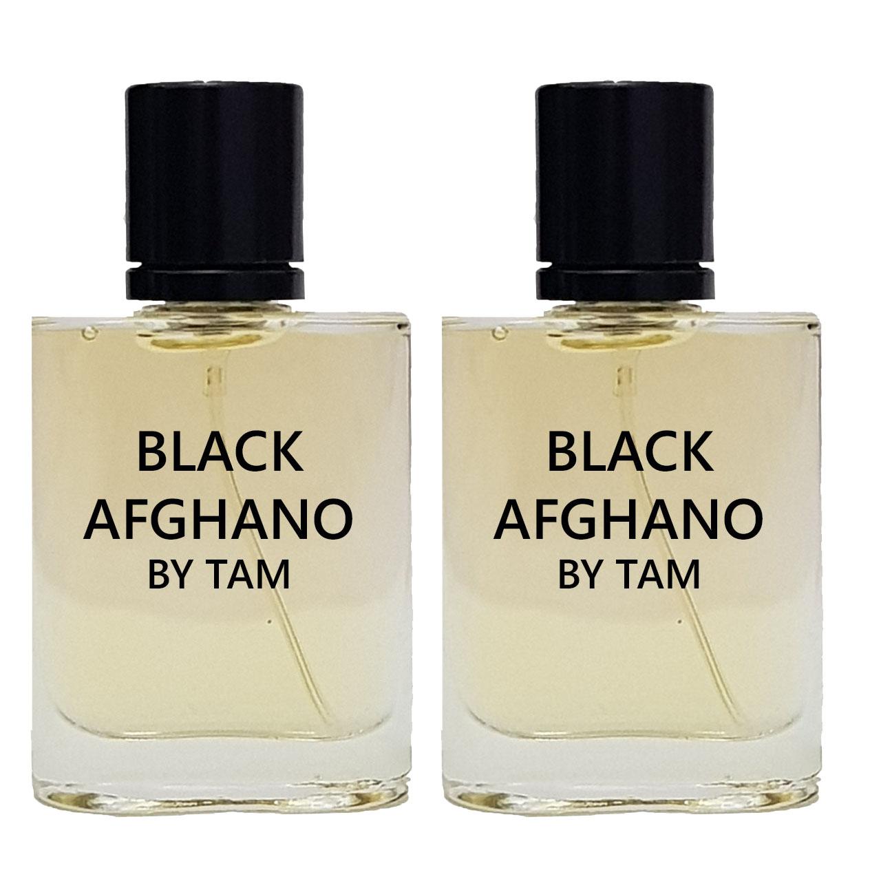 عطر جیبی مردانه تام مدل Black Afghano حجم 25 میلی لیتر بسته 2 عددی