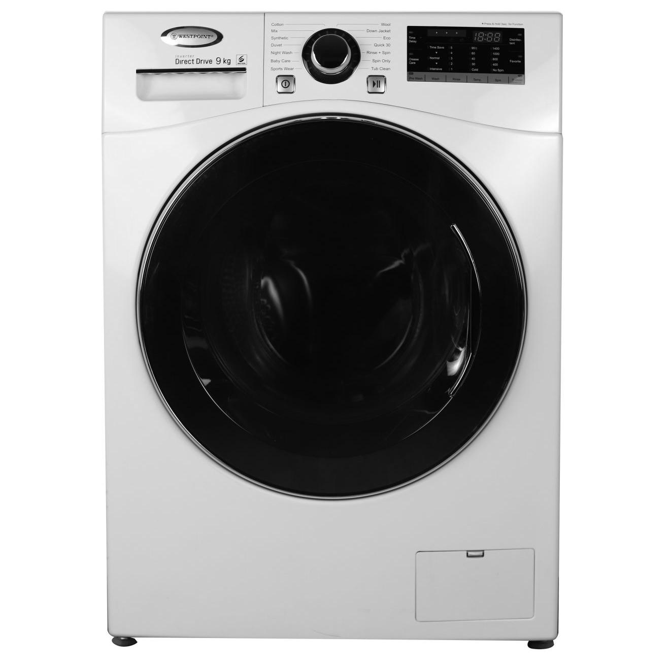 خرید ماشین لباسشویی وست پوینت مدل WMX-91419EC ظرفیت ۹ کیلوگرم