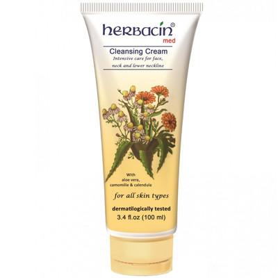 پاک کننده آرایش هرباسین مدل Cleansing Cream حجم 100 میلی لیتر