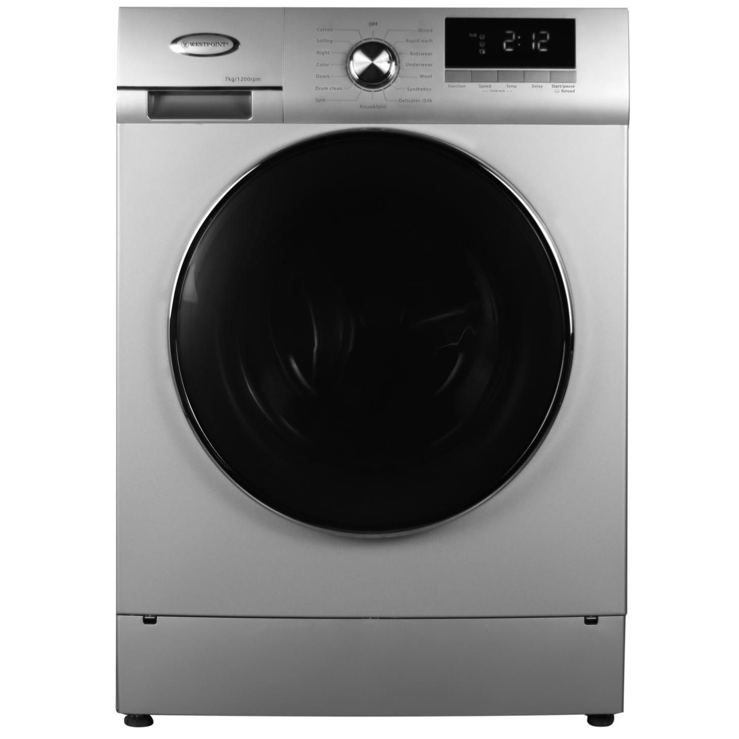 خرید ماشین لباسشویی وست پوینت مدل WMX71219-E ظرفیت ۷ کیلوگرم