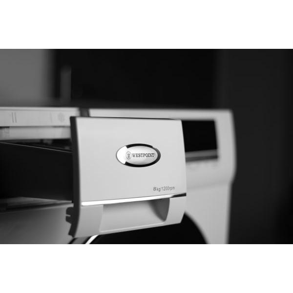 ماشین لباسشویی وست پوینت مدل WMX81219-E ظرفیت ۸ کیلوگرم