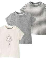 تی شرت نوزادی لوپیلو کد GC01 مجموعه 3 عددی -  - 1