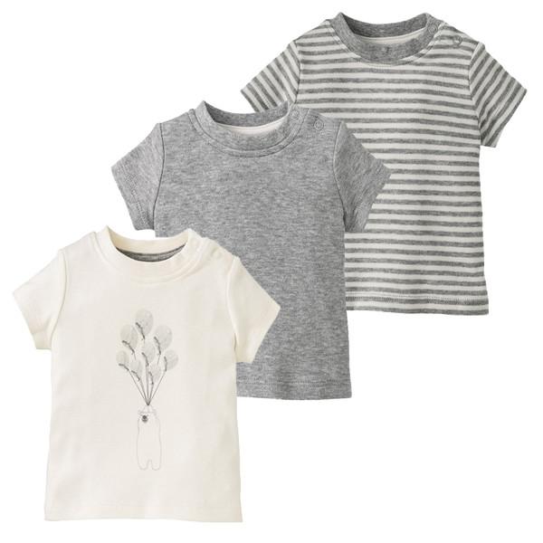 تی شرت نوزادی لوپیلو کد GC01 مجموعه 3 عددی