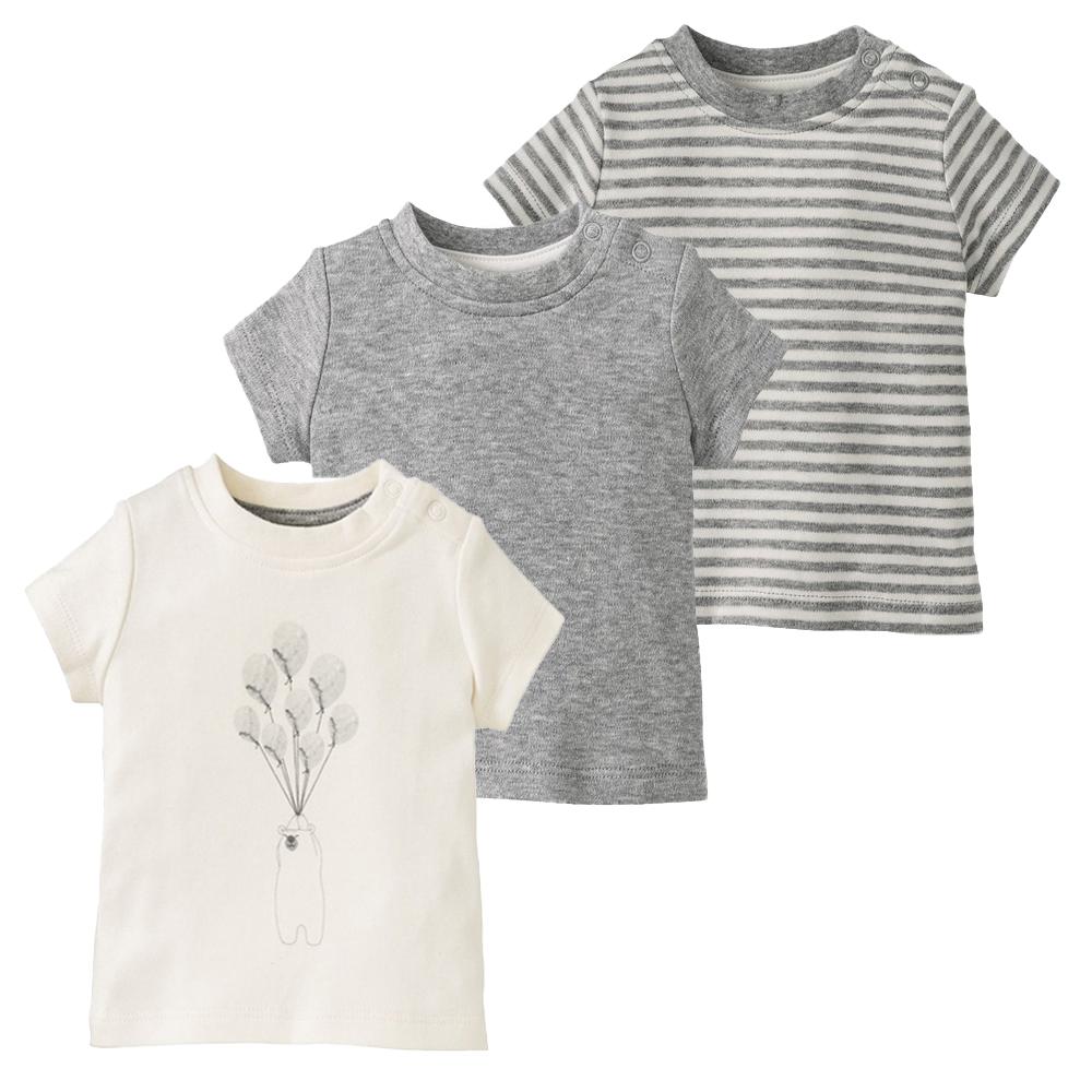 تی شرت نوزادی لوپیلو کد GC01 مجموعه 3 عددی -  - 2