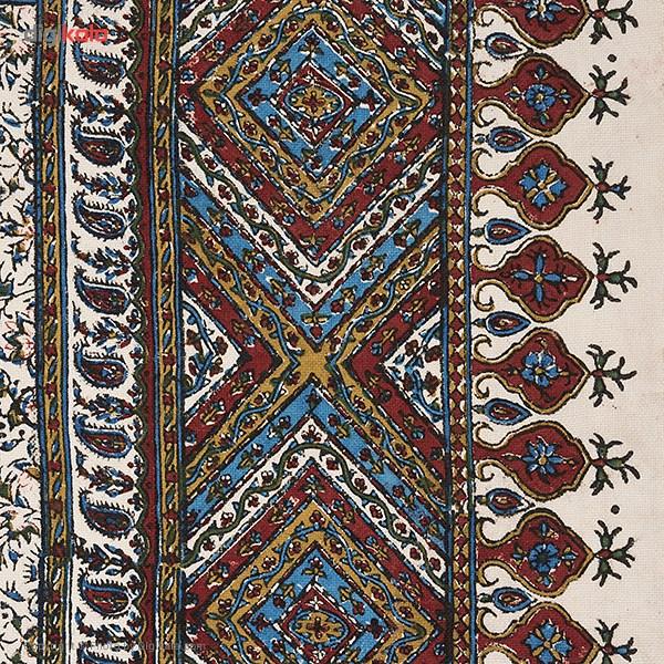 خرید                      سفره قلمکار ممتاز اثر عطریان طرح 16 سایز 100 × 100 سانتی متر