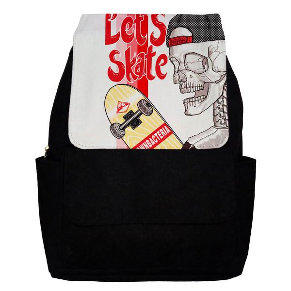 کوله پشتی طرح Lets Skate مدل G11
