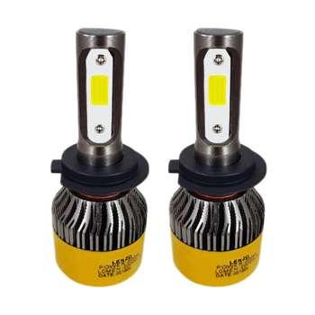 لامپ ال ای دی خودرو لنزو مدل dan01 بسته 2 عددی