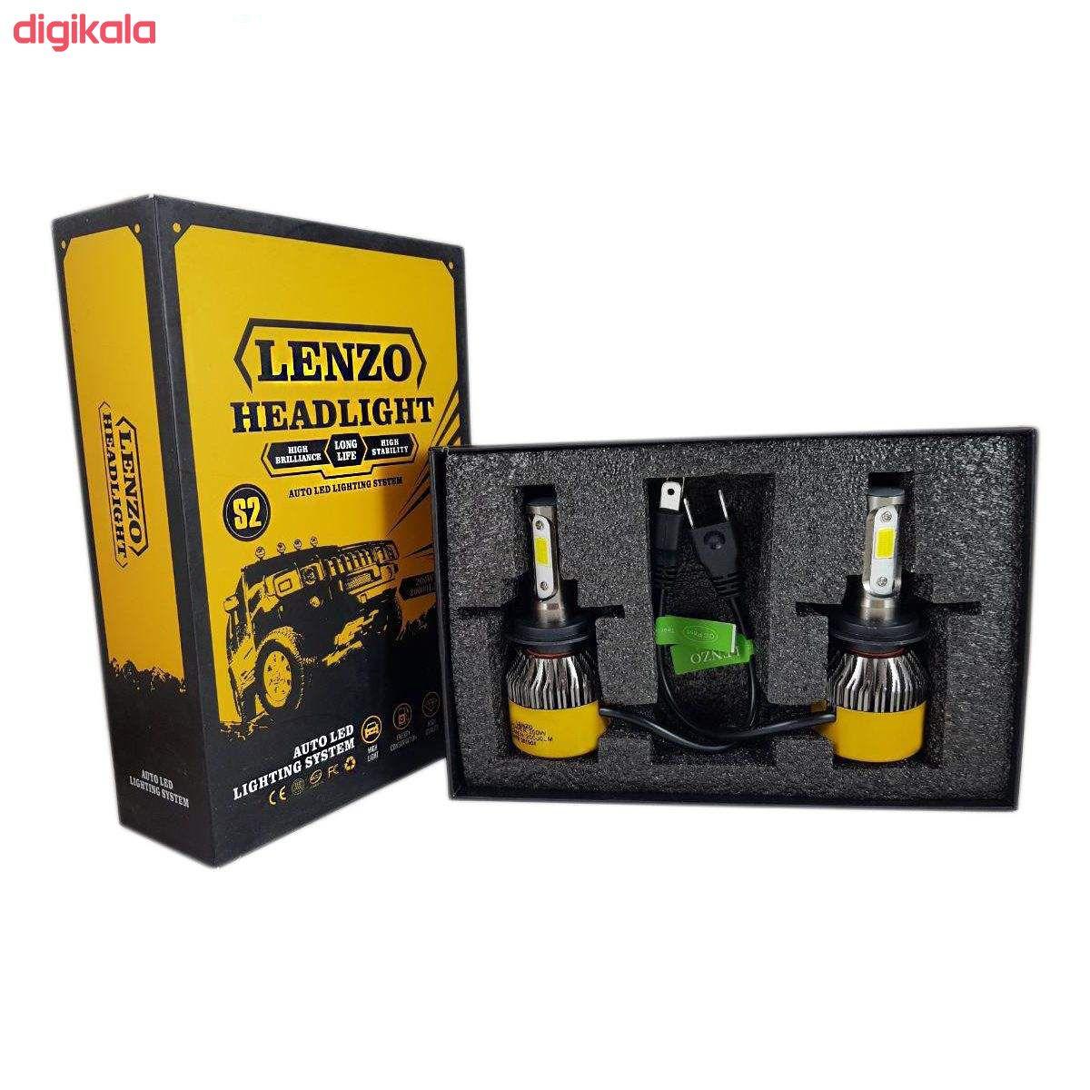 لامپ ال ای دی خودرو لنزو مدل dan01 بسته 2 عددی main 1 1
