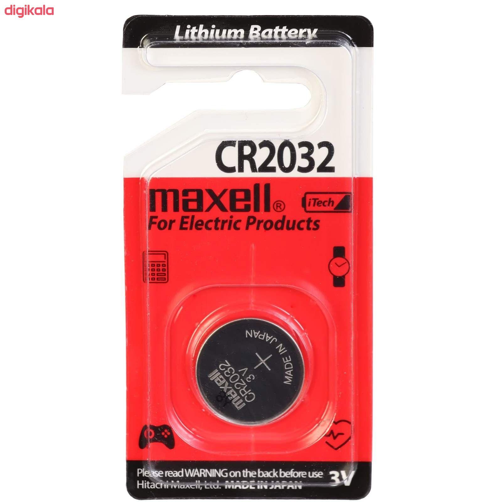 باتری سکه ای مکسل مدل CR 2032 main 1 1