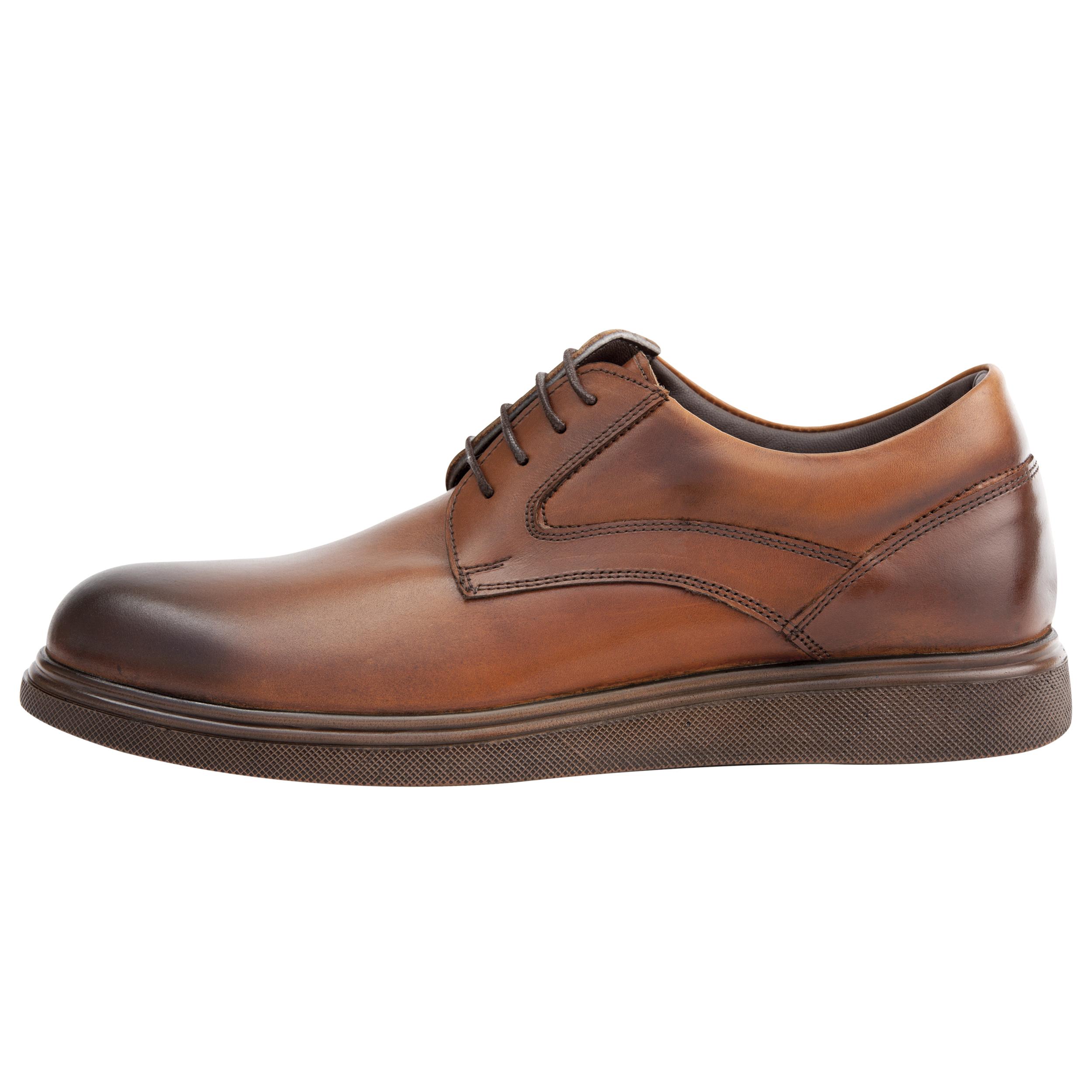 کفش روزمره مردانه فری مود کد 1828 رنگ عسلی