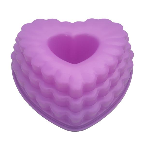 قالب ژله  طرح قلب کد n06
