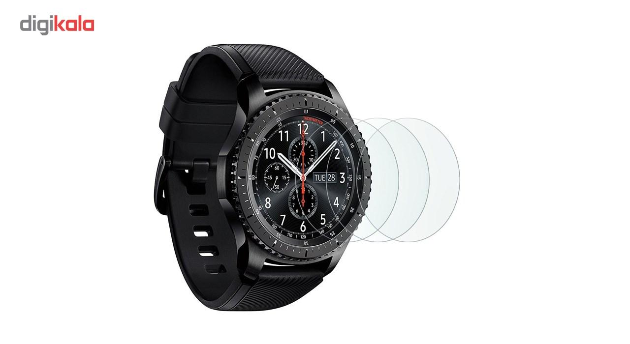 محافظ صفحه نمایش کوتتسی مدل 3D Glass مناسب برای ساعت هوشمند سامسونگ مدل Gear S3 main 1 1