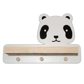شلف دیواری کودک مدل Panda