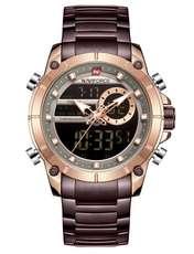 ساعت مچی عقربه ای مردانه نیوی فورس مدل  NF9163 RGCE -  - 1