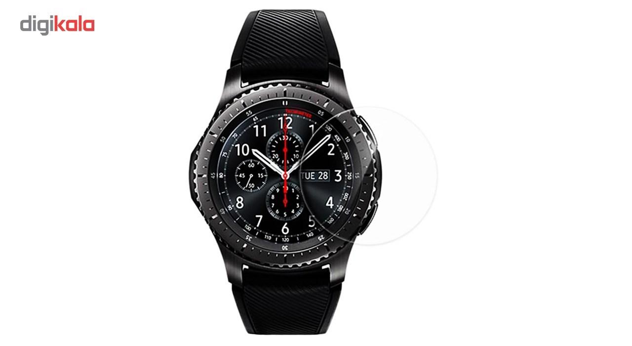 محافظ صفحه نمایش کوتتسی مدل 3D Glass مناسب برای ساعت هوشمند سامسونگ مدل Gear S3 main 1 2