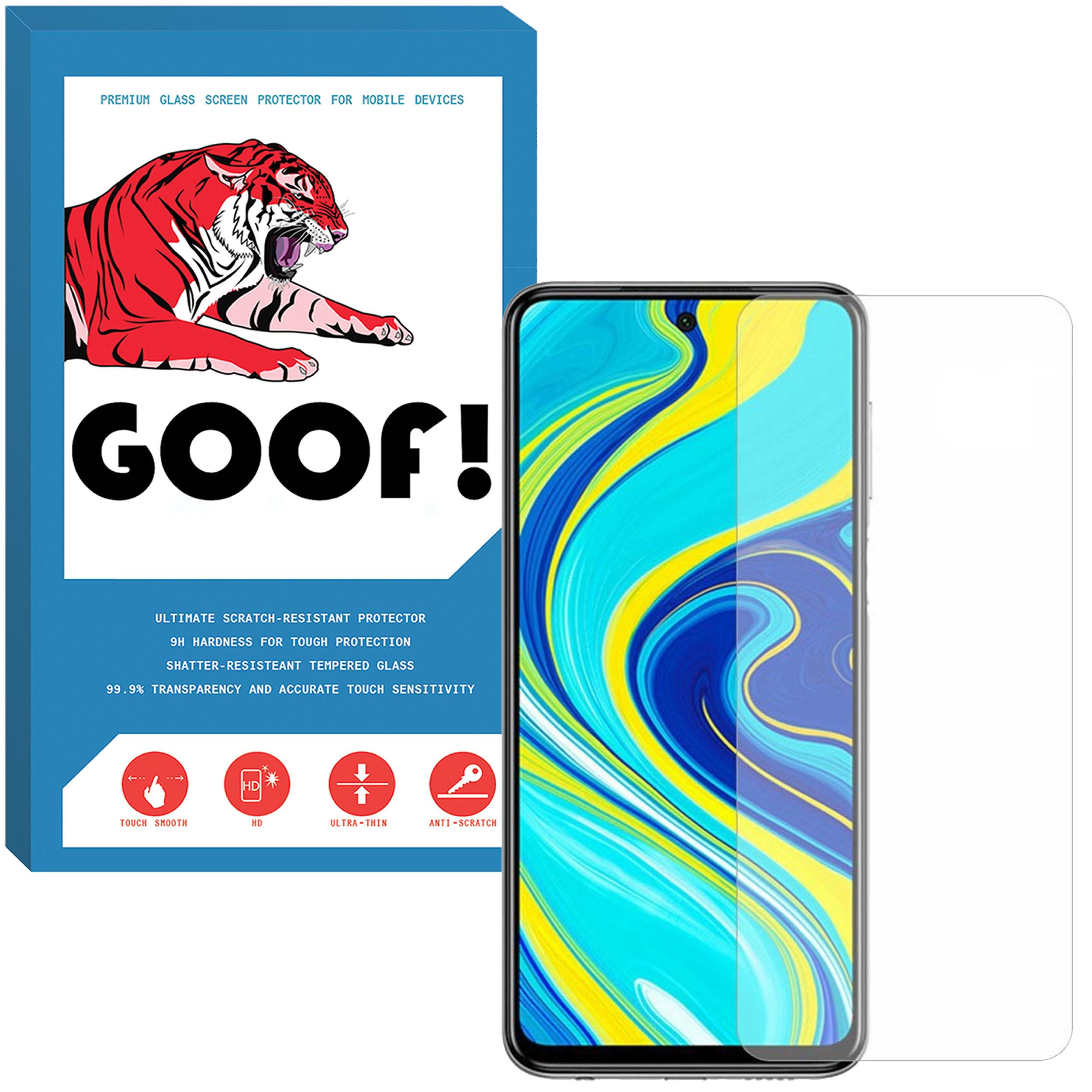 محافظ صفحه نمایش گوف مدل SDG-002 مناسب برای گوشی موبایل شیائومی Redmi Note 9S